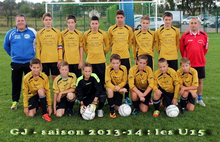 U15 saison 2013-14 14-09-13