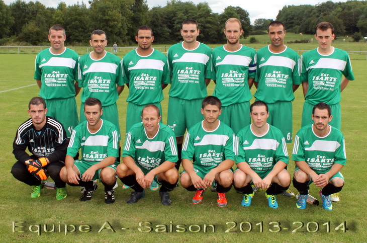Equipe A 2013-14 080913