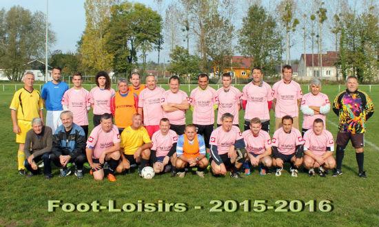 Foot loisirs 2015-16
