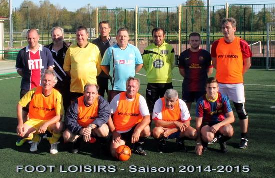 Foot Loisirs 2014-15