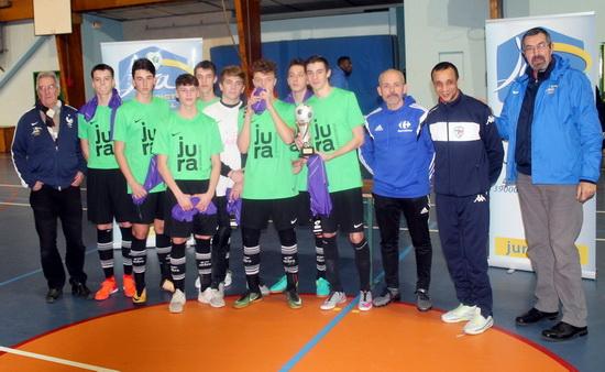 U18 vainqueur finale départementale Futsal