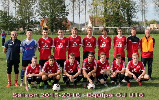 U18 2015-2016