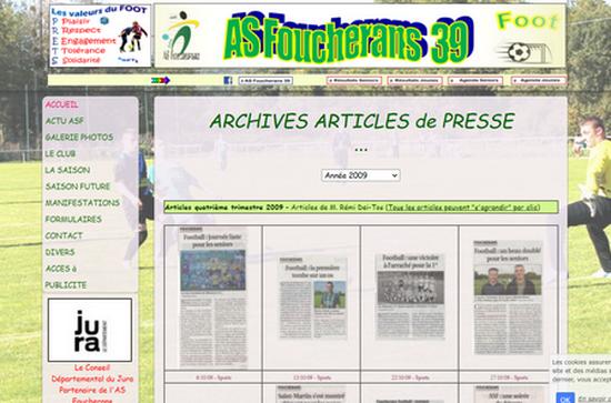 Archives presse