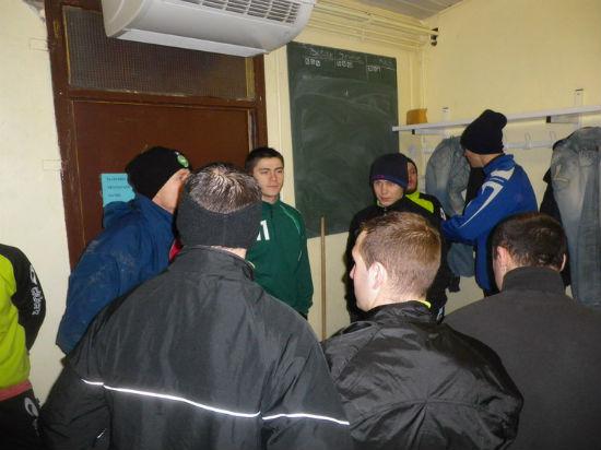 Reprise entrainement 02-2012 seniors