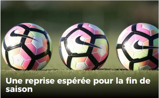 Reprise Ligue 2021