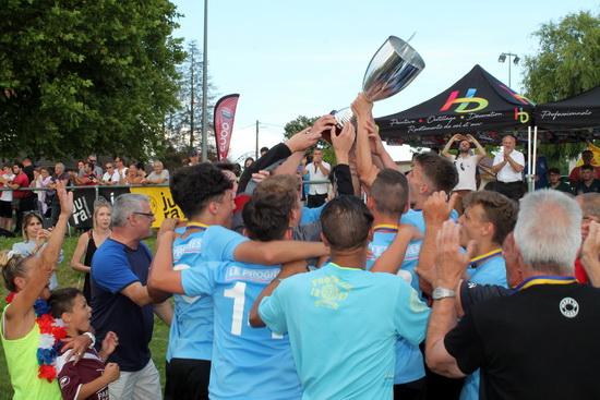U18 vainqueur coupe 2018